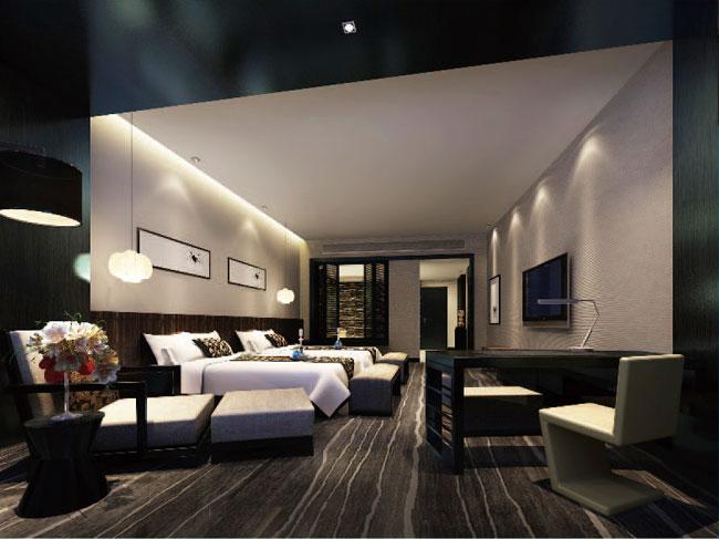 南海西岸养生酒店二标段装修工程
